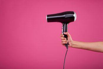 secador rosa